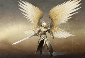 Ангел с совершенным шёлковым мечом