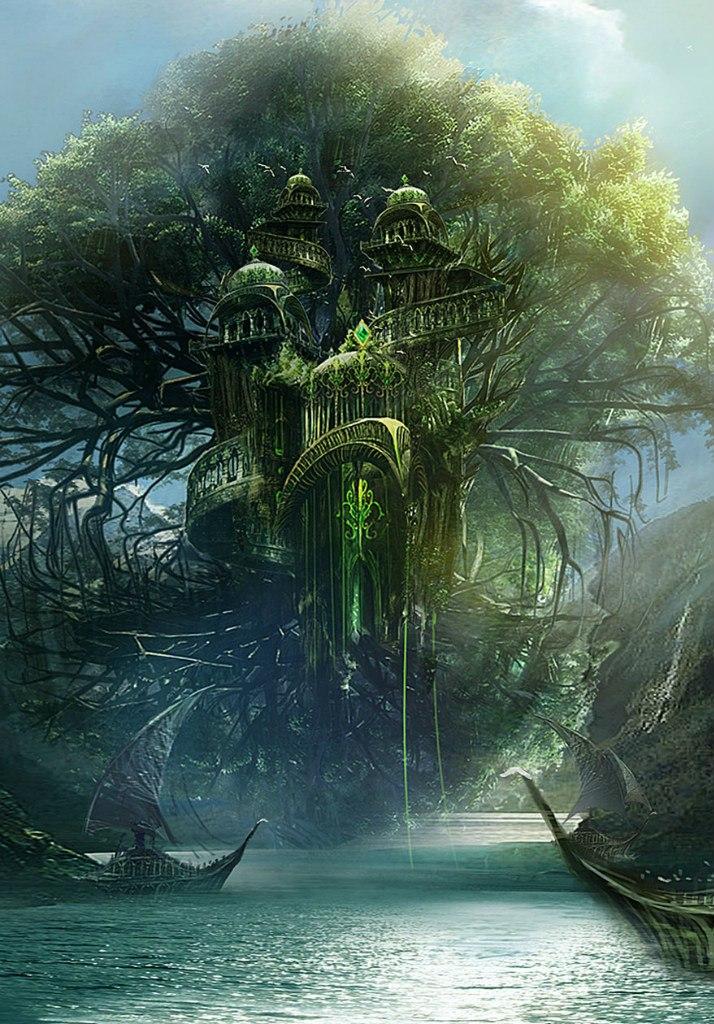 Город Остров Древа