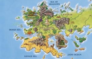Карта мира Асхан